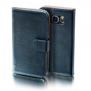 Tasche Wallet Schwarz für Sony Xperia X Compact F5321 Bookcover Schutz Hülle Neu