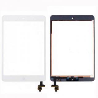 Touch Screen Display Home Button IC Chip für Apple iPad Mini 1 + 2 Klebepad Weiß