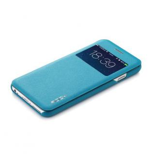Original ROCK Window Smartcover Blau für Apple iPhone 6 4.7 Cover Hülle Tasche