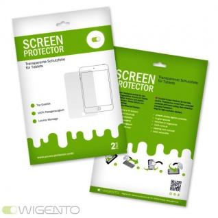 2x Displayschutzfolie für Samsung Galaxy Tab 4 10.1 SM-T530 Folie + Poliertuch