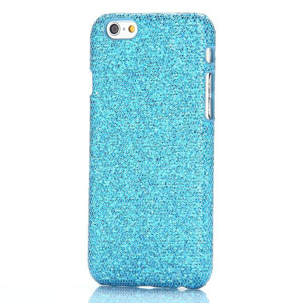 hardcase glitzer hellblau f r apple iphone 6 4 7 case. Black Bedroom Furniture Sets. Home Design Ideas