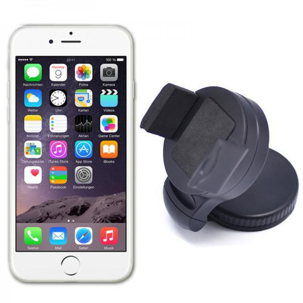 universelle 360 kfz halterung scheibe f r apple iphone 5 4. Black Bedroom Furniture Sets. Home Design Ideas