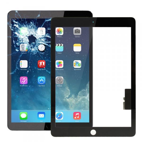 apple ipad air schwarz display displayglas touchscreen. Black Bedroom Furniture Sets. Home Design Ideas