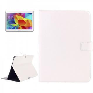 Schutz Tasche Weiss für Samsung Galaxy Tab 4 10.1 SM-T530 T530 Hülle Case Cover