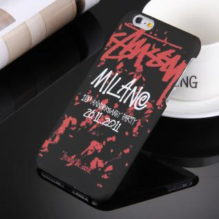 Day Night Schutzhülle Cover für Apple iPhone 6S 6 Style Hardcase Milano Muster