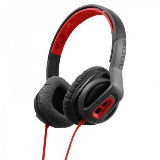 SOUL Transform Kopfhörer On-Ear Sportkopfhörer Studio Headset Rot Top Sound MFI