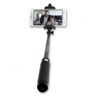 Universal Selfie Teleskop Stange Stick Bluetooth Selbstauslöser Fernbedienung