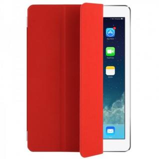 Smart Cover Rot für Apple iPad Air Hülle Case Tasche Schutz Etui Zubehör Neu Top