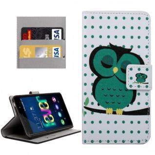 Schutzhülle Muster 33 für Wiko Fever Bookcover Tasche Hülle Wallet Case Etui Neu