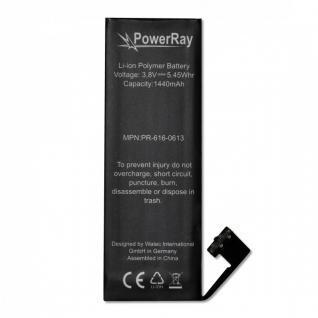Akku Batterie Battery PR-616-0613 für Apple iPhone 5 1440 mAh Bulk 3, 8V