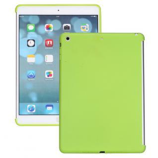 Schutzhülle Silikon Grün Hülle Cover Kappe für Apple iPad Air + Folie Neu Top