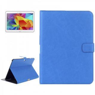 Schutz Tasche Blau für Samsung Galaxy Tab 4 10.1 SM-T530 T530 Hülle Case Cover