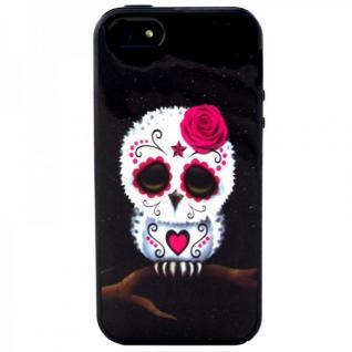 Silikon Case Muster 36 für Apple iPhone 5 5S Hülle Cover Schutz Zubehör Kappe