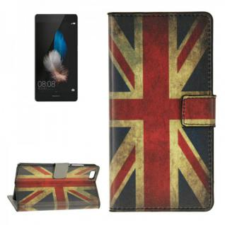 Schutzhülle Muster 9 für Huawei Ascend P8 Lite Bookcover Tasche Hülle Wallet7