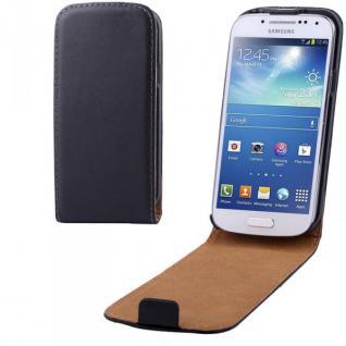 Tasche Fliptasche für Samsung Galaxy S4 Mini i9190 i9195 LTE Case + Folie Neu