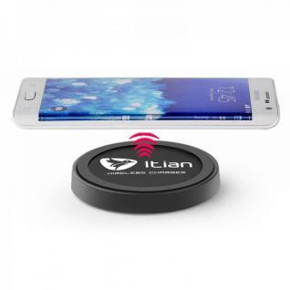 QI Wireless Charger Ladegerät Induktiv Ladestation Dockingstation Dock Schwarz TOP