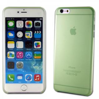 Hardcase Glossy Ultra Dünn 0, 3 mm Grün für Apple iPhone 6 Plus 5.5 Hülle Cover