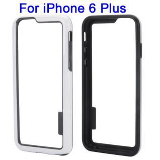 Hybrid Schutz Bumper Weiss Hülle Case Tasche für Apple iPhone 6 Plus 5.5 Kappe
