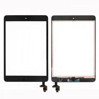 Touch Screen LCD Home Button IC Chip für Apple iPad Mini 1 + 2 Klebepad Schwarz