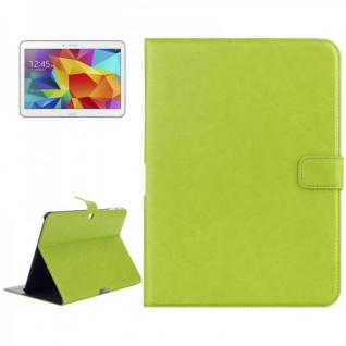 Schutz Tasche Grün für Samsung Galaxy Tab 4 10.1 SM-T530 T530 Hülle Case Cover
