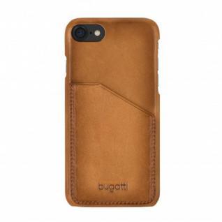 Bugatti Snap Case Londra Cover für Apple iPhone 7 Plus Schutzhülle Hülle Sand