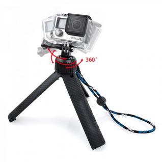 360 Grad Stand Stativ Halterung für GoPro HERO 4 3+ 3 2 aufstellen Zubehör Neu