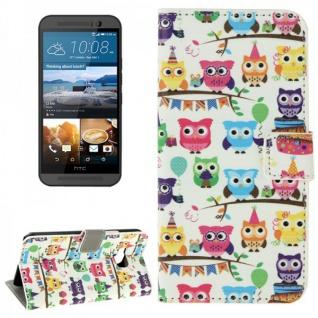 Schutzhülle Muster 71 für HTC One 3 M9 2015 Tasche Cover Case Hülle Etui Schutz