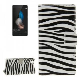 Schutzhülle Muster 7 für Huawei Ascend P8 Lite Bookcover Tasche Hülle Wallet7