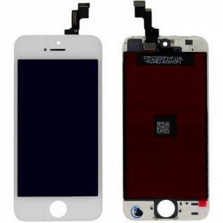 Display LCD Komplett Einheit Touch Panel für Apple iPhone 5S Weiss Ersatz Glas