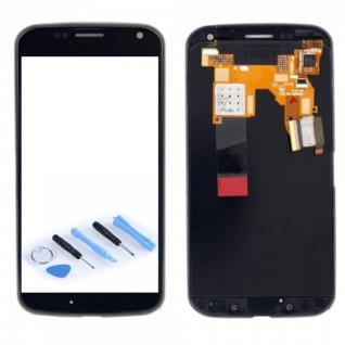 Display Full LCD Komplett mit Rahmen für Motorola Moto X XT1058 XT1060 Schwarz