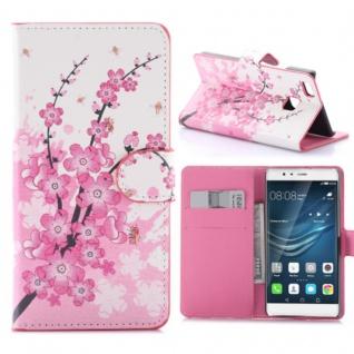 Schutzhülle Muster 6 für Huawei P9 Lite Bookcover Tasche Case Hülle Wallet Etui