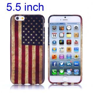 Silikon Case Muster 10 für Apple iPhone 6 Plus 5.5 Hülle Cover Schutz Zubehör