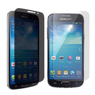 Privacy Anti Glare Folie für Samsung Galaxy S4 Mini i9190 i9195 + Poliertuch Neu