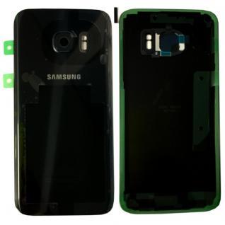 Samsung Akkudeckel für Galaxy S7 G930F GH82-11384A + Klebepad Adhesive Schwarz