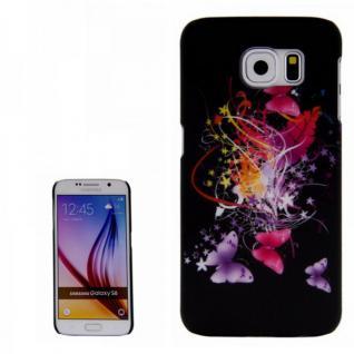 Hardcase Motiv 24 für Samsung Galaxy S6 G920 G920F Hülle Case Cover Tasche Neu