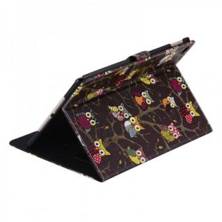 Schutzhülle Kunstleder Tasche Eule 1 für Apple iPad Air 2 2014 Case Kappe Neu