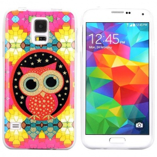 Silikoncase für Samsung Galaxy S5 S 5 V Hülle Case Cover Silikon Zubehör Etui