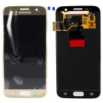 Display Full LCD Komplettset GH97-18523C Gold für Samsung Galaxy S7 G930 G930F