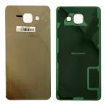 Samsung GH82-11020A Akkudeckel für Galaxy A5 2016 A510F + Klebepad Adhesive Gold