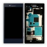 Sony Display LCD Komplett mit Rahmen für Xperia X Compact F5321 Schwarz Ersatz