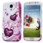 Silikoncase für Muster 12 Samsung Galaxy S4 i9500 i9505 LTE + Displayschutzfolie