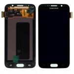 Display LCD Komplettset Touchscreen Schwarz für Samsung Galaxy S6 G920 G920F Neu