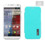 Original Rock Smartcover Blau für Motorola Moto X XT1055 Hülle Case Cover Neu