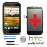 Full LCD + Touch Screen Displayglas Zubehör Ersatz Glas für HTC Desire C Schwarz