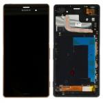 Original Sony Display LCD Komplett Einheit mit Rahmen für Xperia Z3 D6603 Ersatz