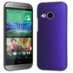 Exklusives Schutzcover für HTC One Mini 2 M5 Edel Hülle Cover Case lila