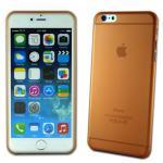 Hardcase Glossy Ultra Dünn 0, 3 mm Orange für Apple iPhone 6 Plus 5.5 Hülle Cover
