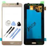 Display LCD Komplettset GH97-18792A Gold für Samsung Galaxy J5 J510F 2016 Neu