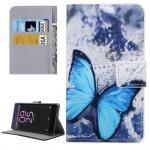 Tasche Wallet Premium Muster 18 für Sony Xperia X 5 Zoll F5121 Bookcover Hülle