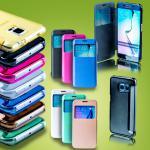 Smartcover Window für viele Samsung Galaxy Tasche Cover Case Hülle Etui Zubehör